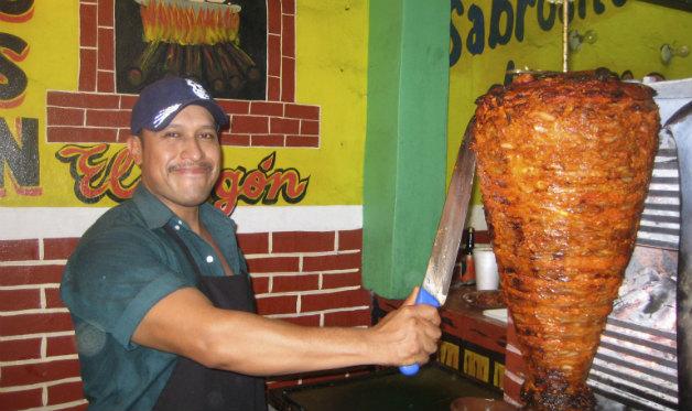 """""""Shepherd's Tacos"""" (Tacos al Pastor)"""