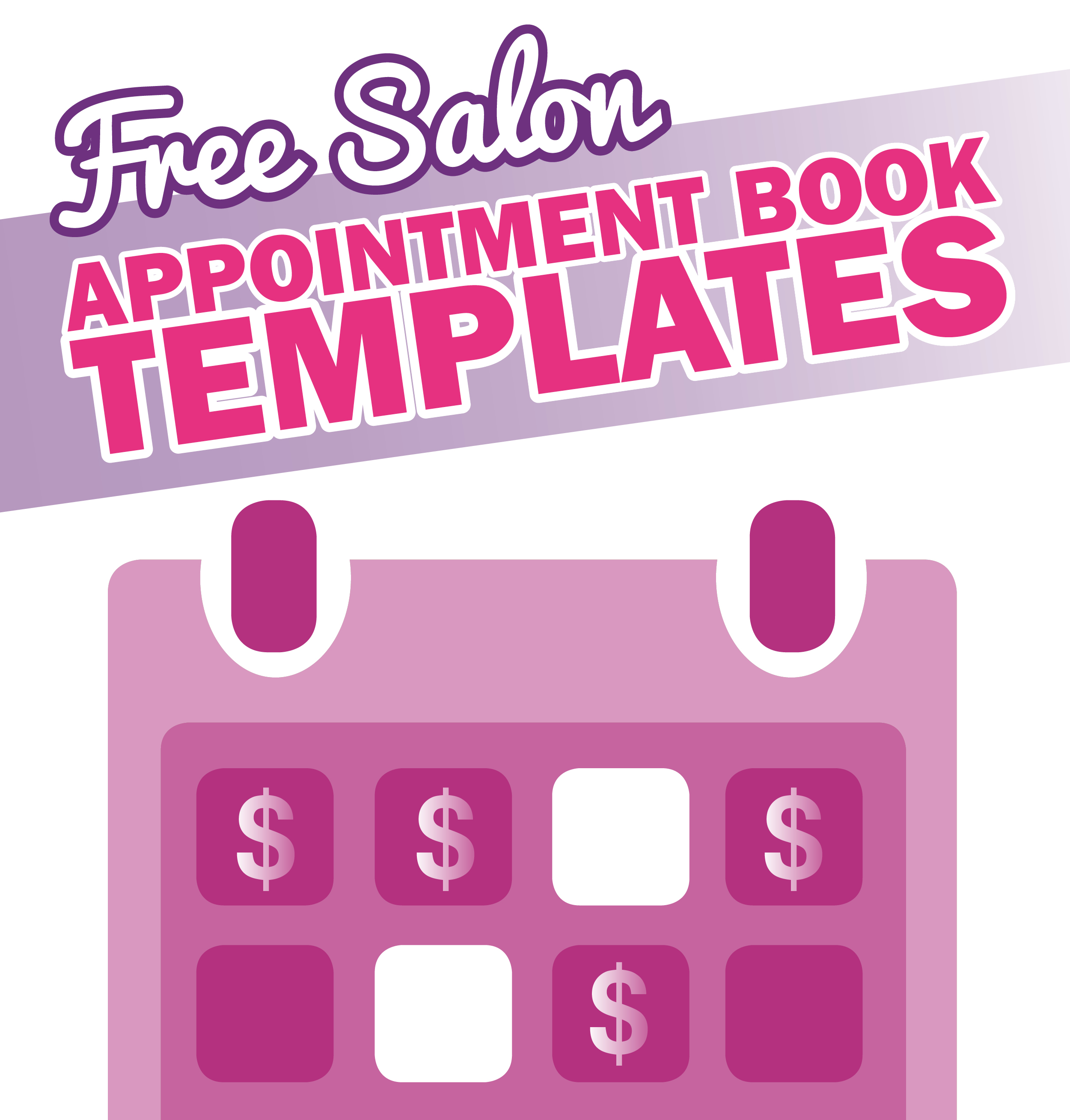 Free Salon Appointment Book Template