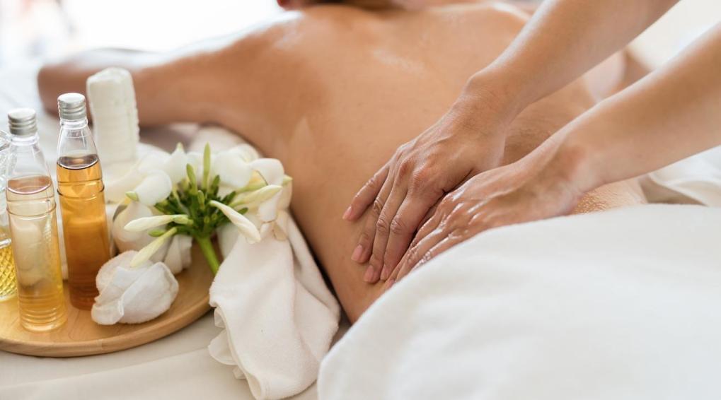 Massage d'aromathérapie