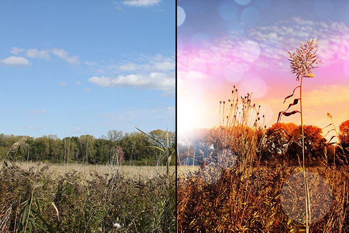 Creating a Sunset Effect in Photoshop  Curiouscom
