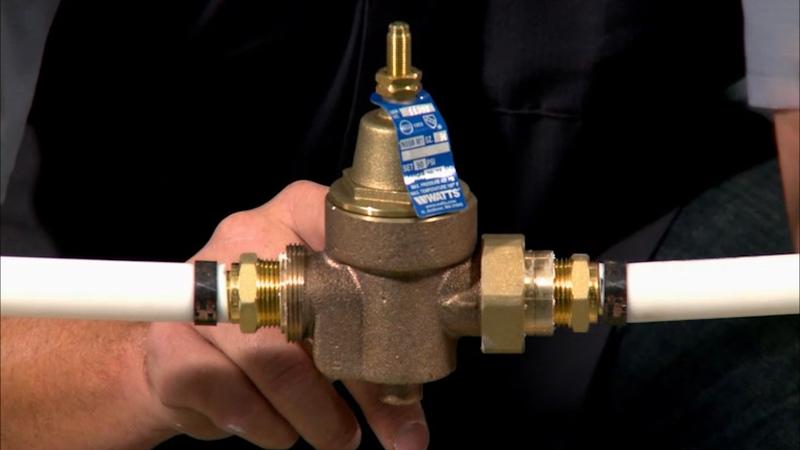 Installing a Water Pressure Regulator  Curiouscom