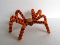 How to Make a Pipe Cleaner Spider | Curious.com