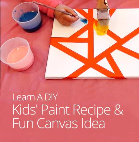 diy kids paint recipe