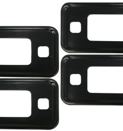 black marker light bezel kit 70 77 ford bronco set of 4  [ 1440 x 810 Pixel ]
