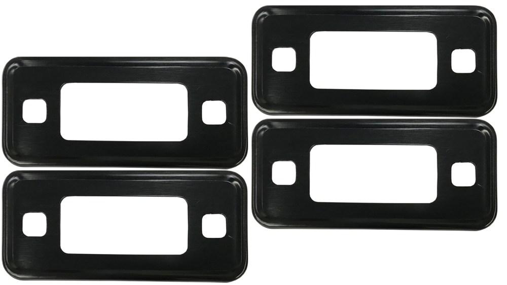 medium resolution of black marker light bezel kit 70 77 ford bronco set of 4