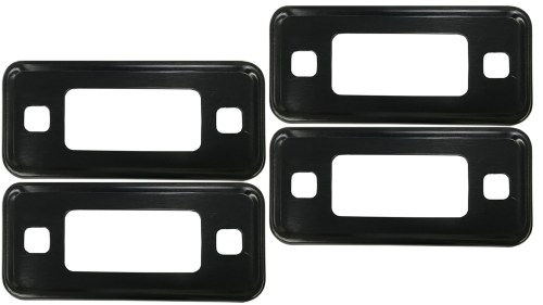 small resolution of black marker light bezel kit 70 77 ford bronco set of 4