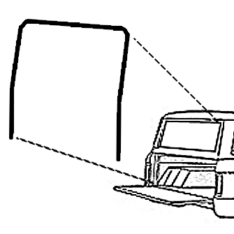 Ford Bronco Tailgate Wiring Diagram Ford Wiring Schematic