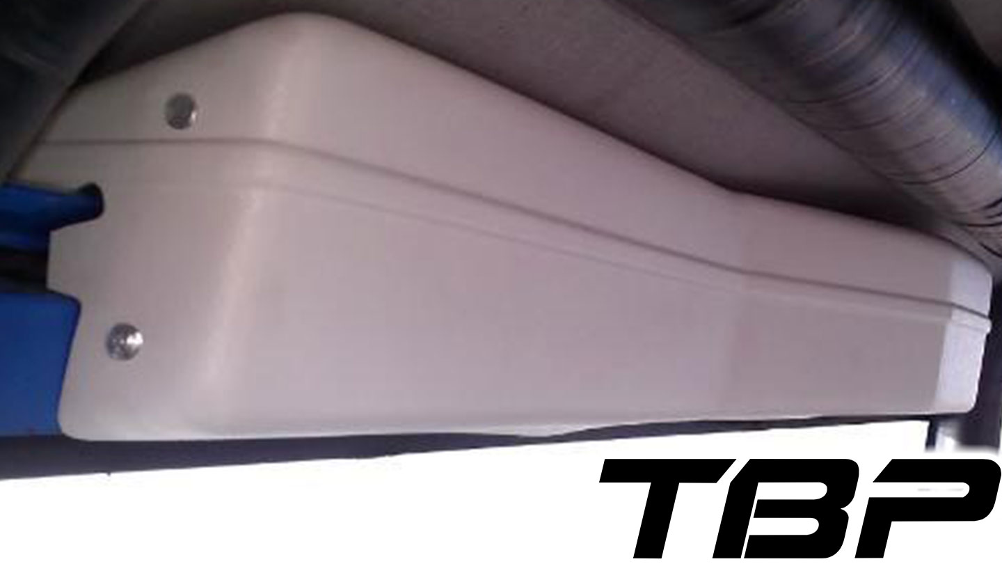 hight resolution of wiper cover for tbp soft top white w mounting brackets
