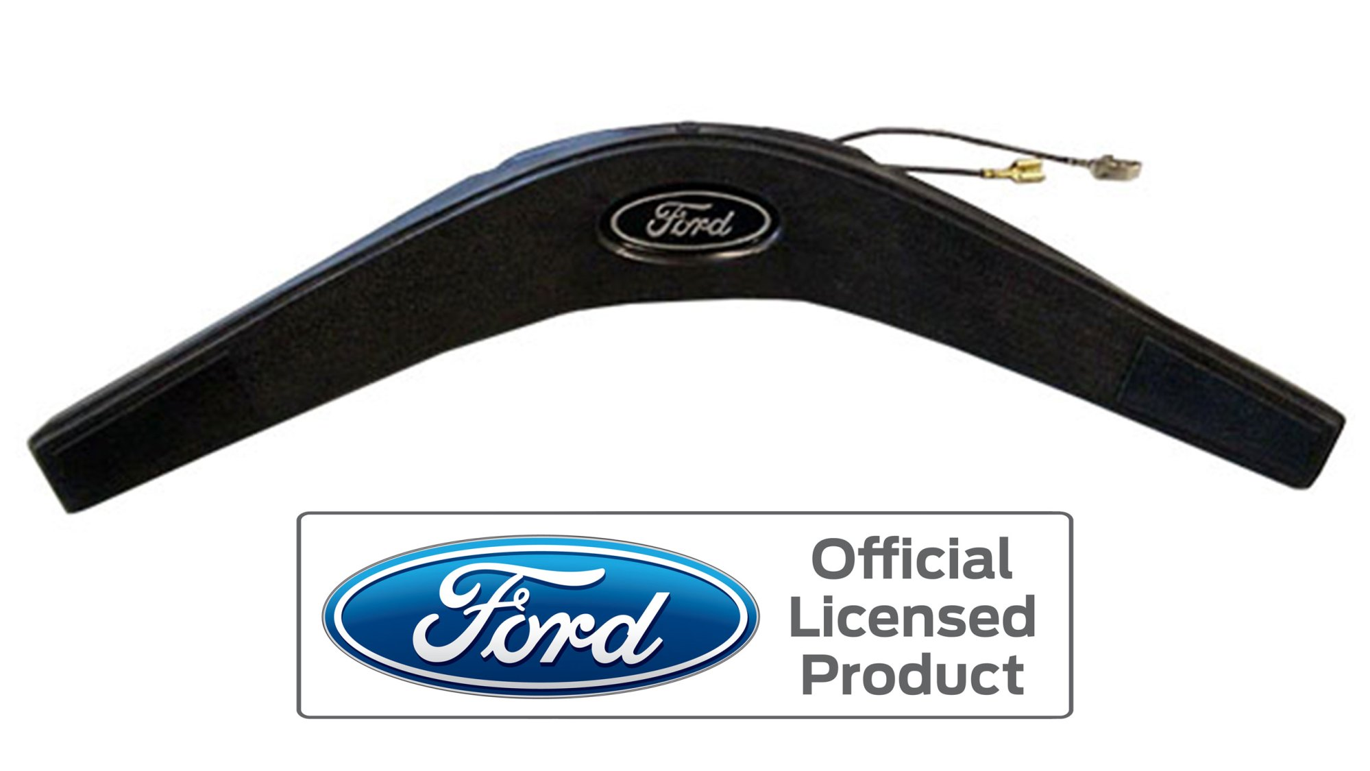 hight resolution of horn pad for 74 77 ford bronco steering wheel black finish