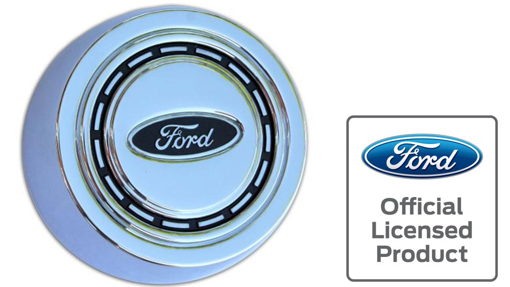 medium resolution of oe style factory horn button chrome 66 73 ford bronco