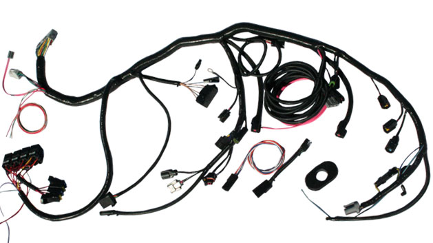 1979 Ford Wiring Harness. Ford. Schematic Symbols Diagram