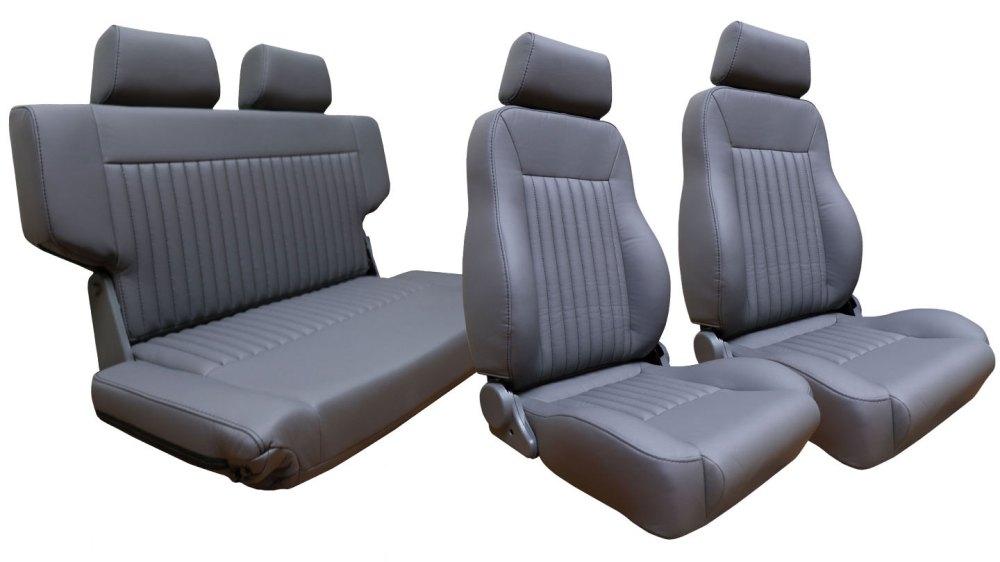 medium resolution of premium seat kit front buckets w fold tumble seat gray w brackets