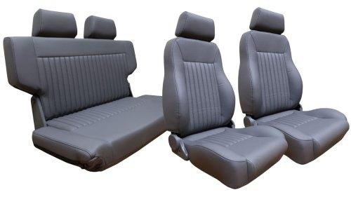 small resolution of premium seat kit front buckets w fold tumble seat gray w brackets