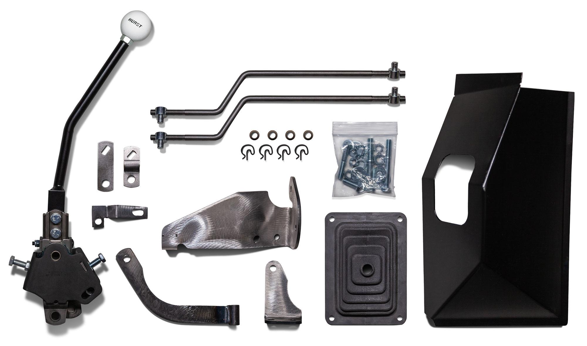 hight resolution of hurst floor shift kit manual 3 speed v8