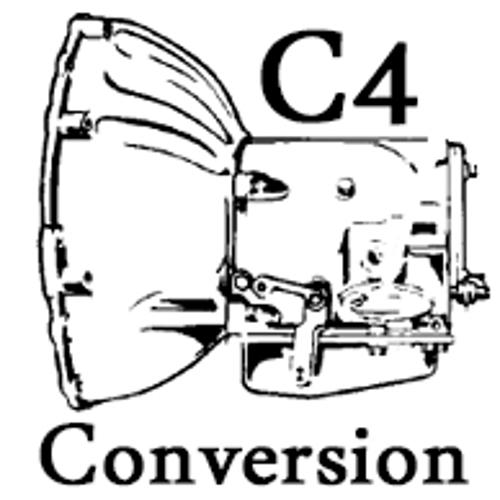 NEW C4 Automatic Transmission Conversion Kit (NO