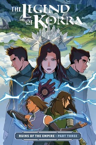 Legend Of Korra New Book : legend, korra, Legend, Korra, Horse, Digital, Comics