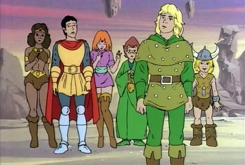 Image result for dungeons and dragons cartoon