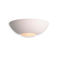 Firstlight ceramic wall light, half moon wall lights