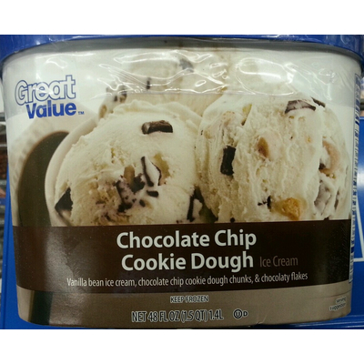 Top 50 most popular chocolate chip cookie dough ice cream
