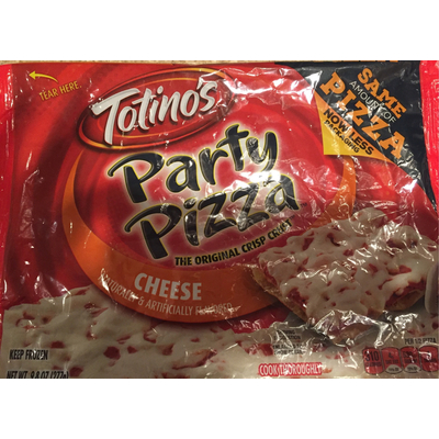 calories in cheese party
