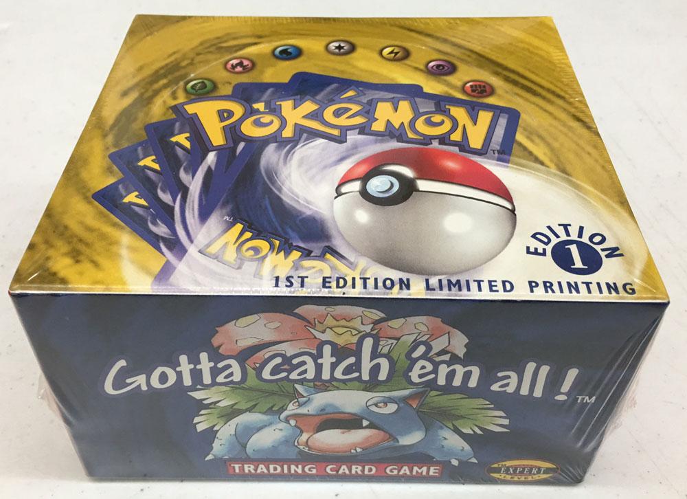 pokemon cartas caja