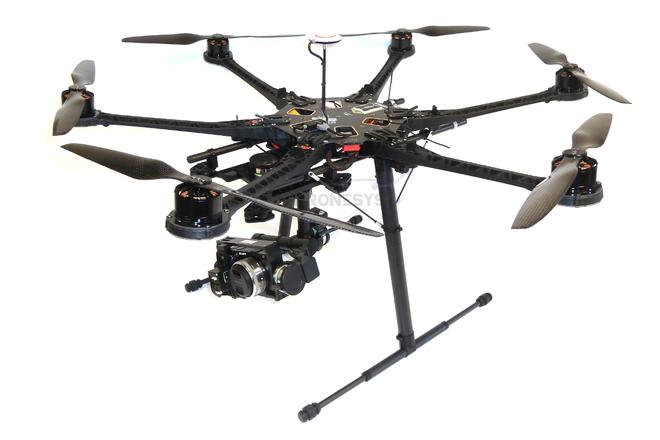 Rent a DJI S800 Evo / Z15/ NEX 5R / Dual Op / 1 pilot