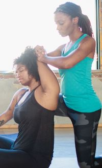 thai yoga stretching for exercise professionals