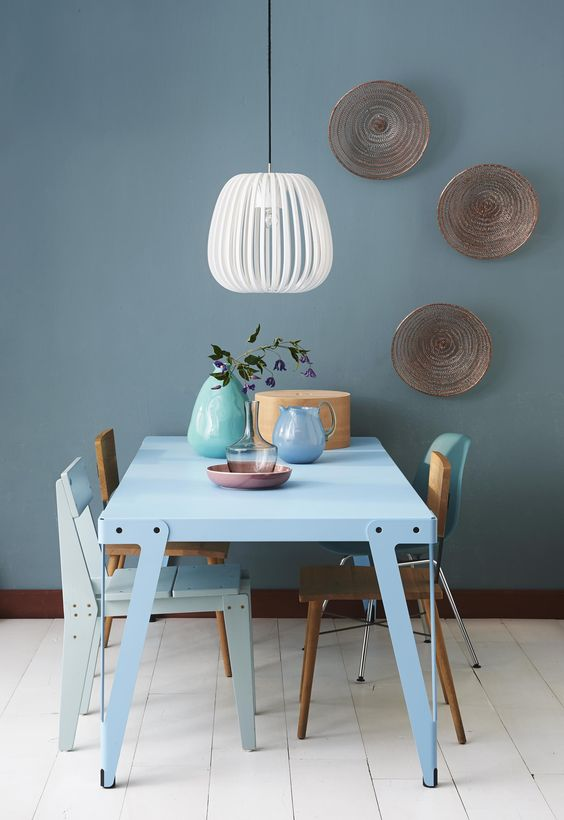 10x de mooiste interieurs met blauwe muren  Alles om van