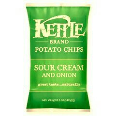Kettle Brand Sour Cream and Onion Potato Chips Reviews