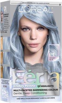 L'Oral Paris Feria Smokey Pastels P1 Smokey Blue Hair ...