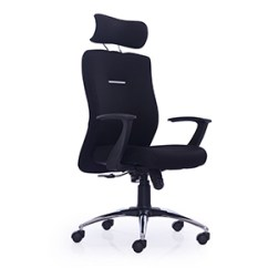Revolving Chair Hsn Code Ikea Upholstered Buy Eminent High Back Grey Leather Ergonomic Office At Maestro