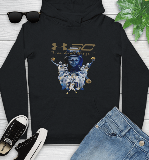 Stephen Curry I Can Do All Things Signature Youth Hoodie