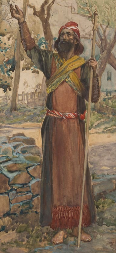 James Tissot: The Prophet Zechariah