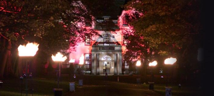 Flambeaux at Prestonfield