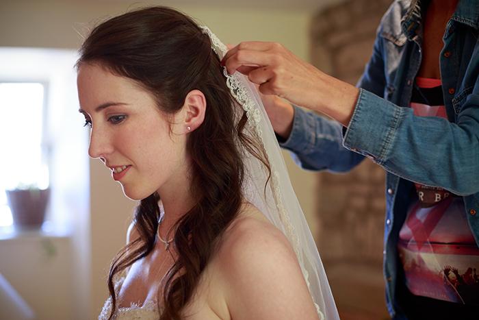 Ailsa and Rich's wedding in Wedderburn Castle
