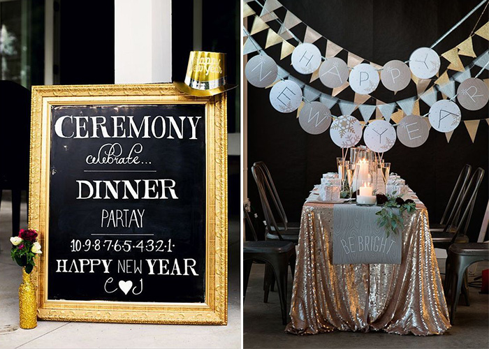 so get creative and start the party vibes in the weeks before your special day