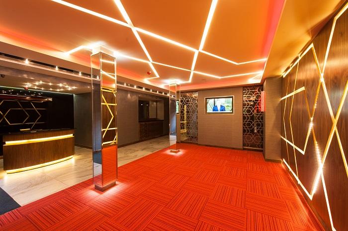 Cool reception area