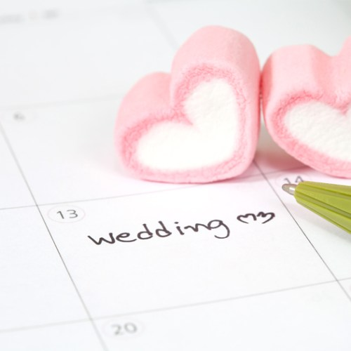 WEDDING DATE CALENDAR