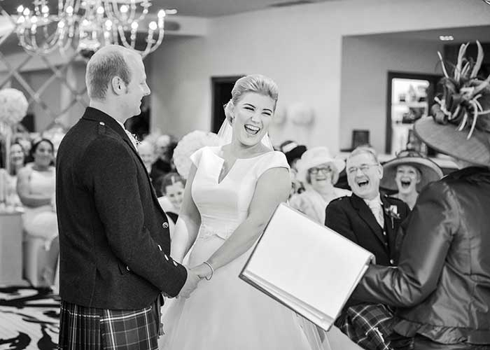 saying vows - Emma Gray Photography