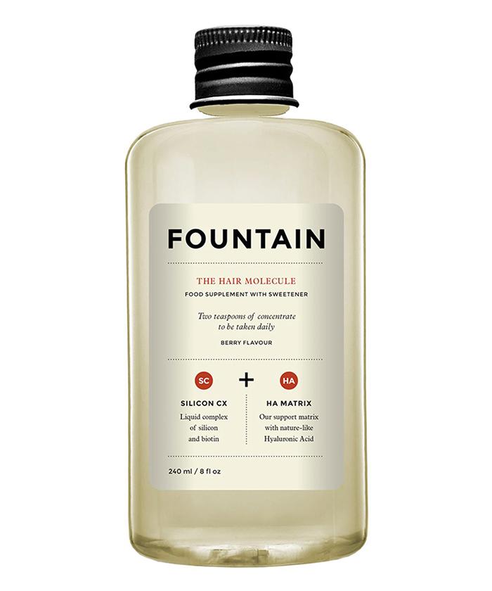 fountain hair molecule wedding supplement