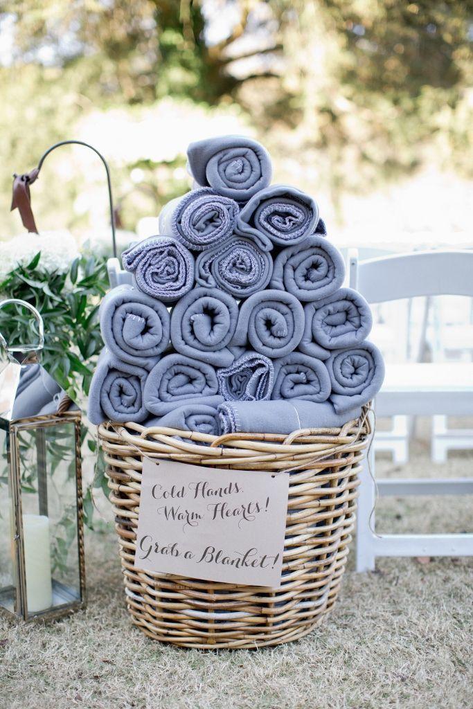 wedding blanket winter favours