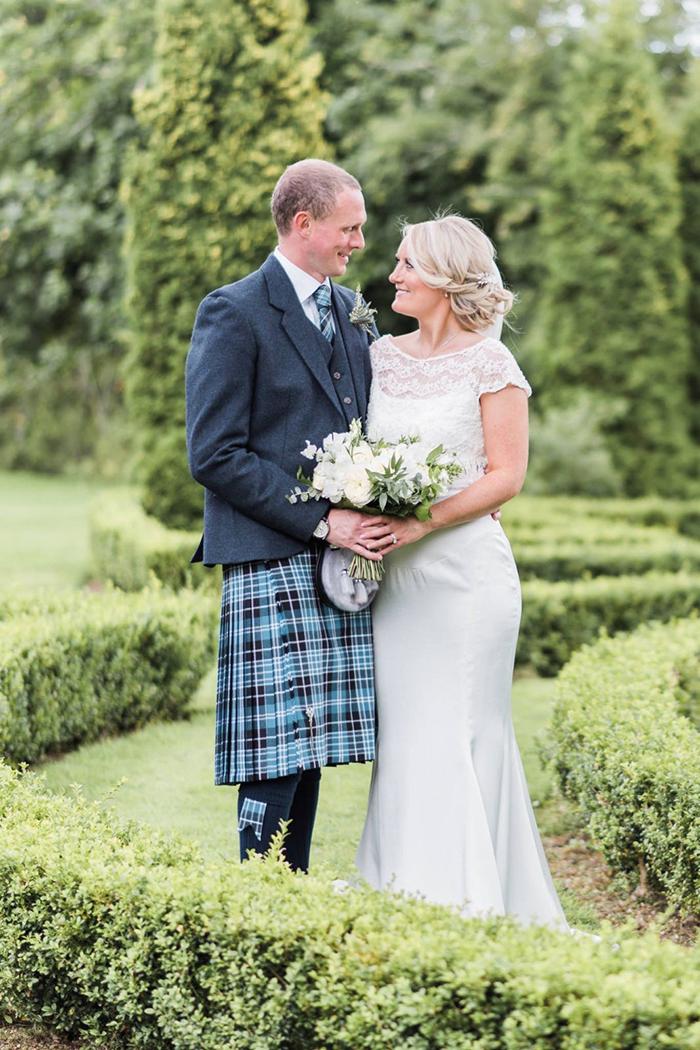 Suzanne Li Photography Kudos Real Bride Wedding Dress Scotland