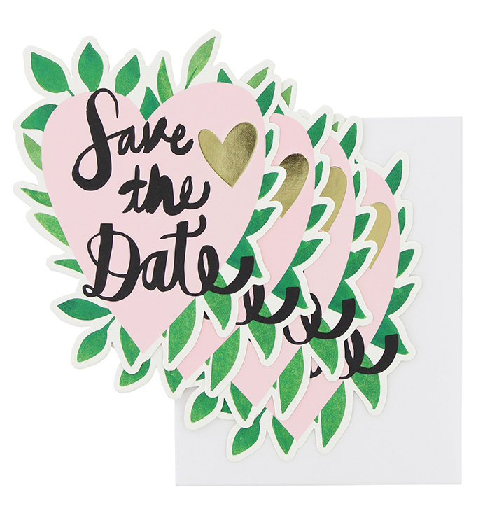 Check out the bold new wedding stationery collection from Paperchase ...