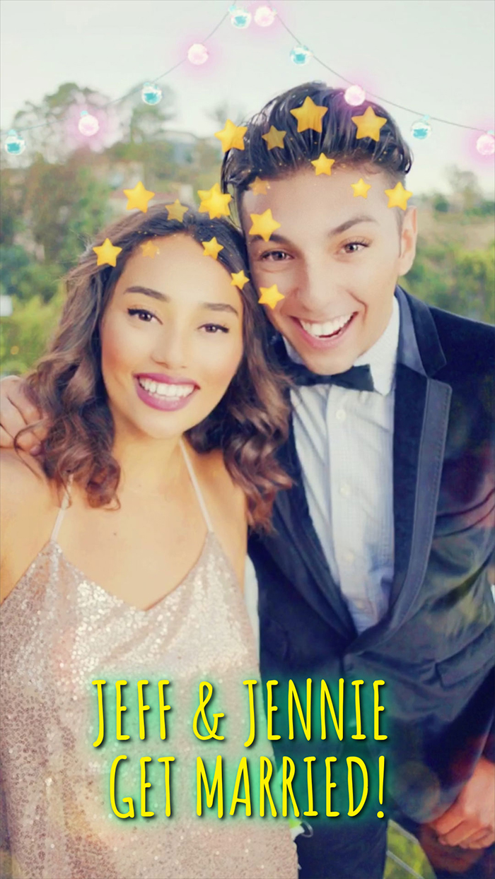 Create Your Own Personalised Snapchat Wedding Day Filter