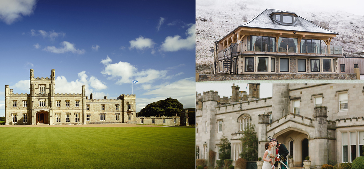 17 Of The Best Exclusive Use Wedding Venues In Scotland 2018