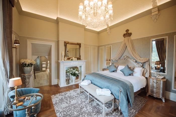 honeymoon suite cornhill castle