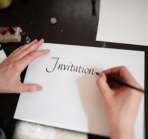 Not invited wedding