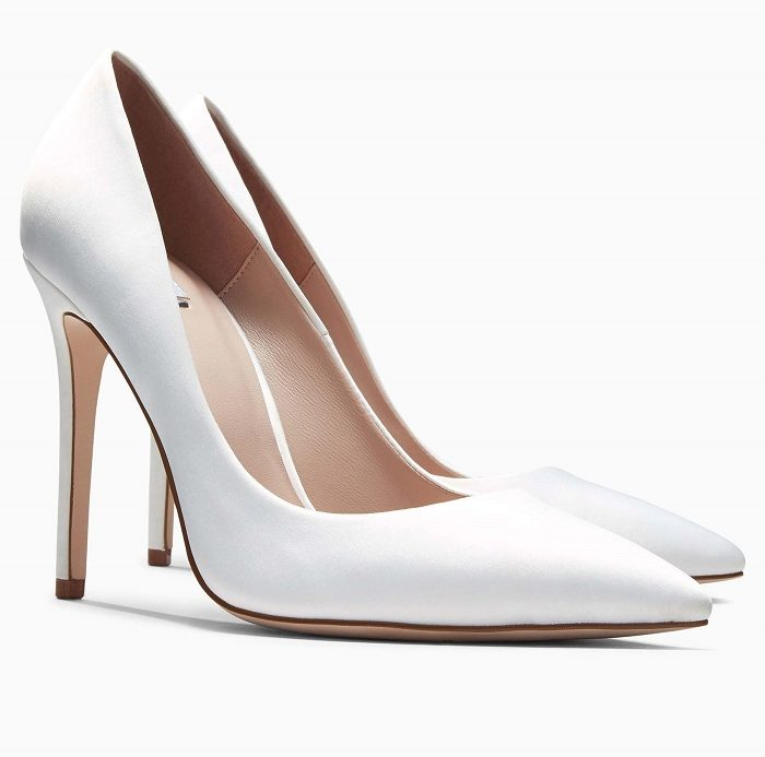 c834e6e0d94ed Shoe of week  Ivory high pointed court shoes from Next - Scottish ...