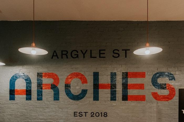 Argyle St Arches weddings 2018