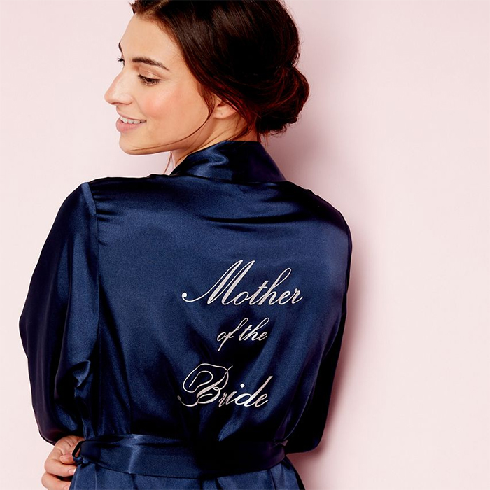 Stylish bride and bridesmaid dressing gowns Debenhams mother of the bride